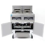 Frymaster FPPH255 Gas Fryer - (2) 50 lb Vat, Floor Model, LP