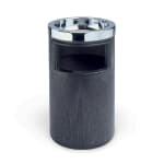 Rubbermaid FG258600BLA Trash Can Top Cigarette Receptacle
