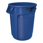 Rubbermaid FG263200BLUE 32 gal Multiple Material Recycle Bin - Indoor/Outdoor