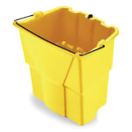 Rubbermaid FG9C7400YEL 18 qt Dirty Water Bucket - WaveBrake Combos, Yellow