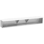 Rubbermaid FG9W7300BLA .6-cu yd Trash Cart w/ 400-lb Capacity, Black