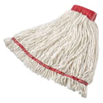 "Rubbermaid FGC25306WH00 Large Swinger Loop Mop - 5"" Headband, 4-Ply Cotton/Synthetic, White"