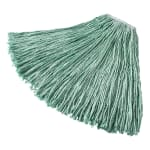 "Rubbermaid FGF13100GR00 16-oz Mop Head - 1"" Headband, Synthetic Yarn, Green"
