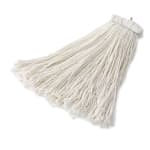 Rubbermaid FGF46800WH00 24 oz Premium Mop Head - Bolt-On Head, 4 Ply Rayon, White