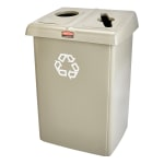 Rubbermaid FG258500BLA Urn Cigarette Receptacle - Outdoor Rated
