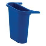 Rubbermaid FG295073 BLUE 3.4-gal Multiple Material Recycle Bin - Indoor