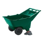 Rubbermaid FG370612714 .17 cu yd Trash Cart w/ 200 lb Capacity, Green