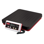 Rubbermaid FG404088 Pelouze Digital Receiving Scale - 400 lb x 0.5 lb/180 kg x 0.2 kg