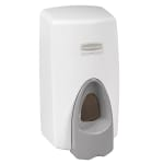 Rubbermaid FG450017 Foam Skin Care Dispenser - Wall-Mount, 800/1000 ml, White