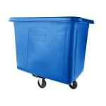 Rubbermaid FG460800DBLUE .3-cu yd Trash Cart w/ 300-lb Capacity, Blue