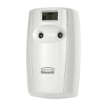 Rubbermaid FG4870056 Microburst® Duet Aerosol Dispenser w/ Alternating Scents, White