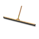 "Rubbermaid FG9C3300 BLA 36"" Traditional Floor Squeegee - 2"" Rubber Blade, Black"