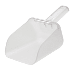 Rubbermaid FG9F7500 CLR 32-oz Bouncer Contour Scoop - Clear