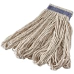 Rubbermaid FGE13600WH00 16 oz Looped-End Mop Head - Cotton, White