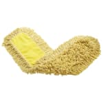 """Rubbermaid FGJ15503YL00 36"""" Trapper® Dust Mop Head Only w/ Looped Ends, Yellow"""