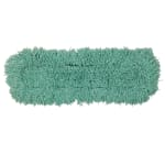 "Rubbermaid FGJ55300GR00 24"" Dust Mop Head Only w/ Twisted Loop Ends, Green"