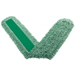 "Rubbermaid FGJ85900GR00 Dust Mop - 72x5"" Looped-End, Microfiber, Green"