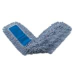 """Rubbermaid FGK15700BL00 48"""" Kut-A-Way® Dust Mop Head Only w/ Cut Ends, Blue"""