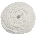 "Rubbermaid FGP11900WH00 19"" Round Bonnet Floor Machine Pad for 175 RPM, White"