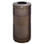 Rubbermaid FGS3ETHBZPL 25-gal Cans Recycle Bin - Indoor/Outdoor, Decorative