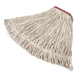 "Rubbermaid FGV15600WH00 Economy Mop Head - #16, 5"" Headband, Cotton Yarn, White"