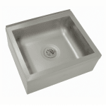 "Advance Tabco 9-OP-28 Floor Mount Mop Sink w/ 6""D Bowl, Tile Edge"