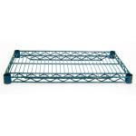 "Advance Tabco EG-1442 Epoxy Coated Wire Shelf - 42""W x 14""D"