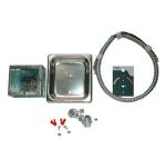 "APW 55346-PK Electrical Code Kit -36""(includes bezel, conduit, junction box)"