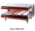 "APW DMXS-30H 30"" Self-Service Countertop Heated Display Case - (1) Shelf, 120v"