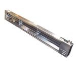 "APW FD-36H-T 36"" Heat Lamp - Single Rod, Toggle Control, 240v, 920w"