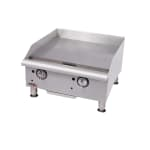 "APW GGT-48I 48"" Gas Griddle - Thermostatic, 1"" Steel Plate, NG"