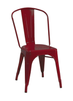 AAF MC130 Recycled Steel Chair - Red Coating