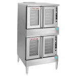 Blodgett BDO-100-EDBL Double Full Size Electric Convection - 208v/3ph