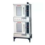 Blodgett DFG-50 Double Half Size Natural Gas Convection Oven - 27,500 BTU