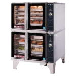 Blodgett HV-100G DBL HydroVection Double Full Size Gas Convection Oven - NG
