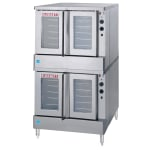 Blodgett SHO-100-E Double Full Size Electric Convection Oven - 208v/3ph