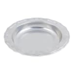 "Bon Chef 1035P 10.75"" Round Serving Bowl w/ 30 oz Capacity, Aluminum w/ Pewter-Glo"