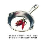 "Bon Chef 5009P 6.5"" Mushroom Saute Pan, Aluminum/Pewter-Glo"