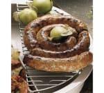 "Bon Chef 5073GP Round Half-Size Grill, 6.25 x 13"", Pewter-Glo"
