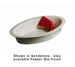 Bon Chef 5099S WH 7-qt Oval Casserole Dish, Aluminum/White