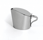 Bon Chef 61309 12-oz Milk Teapot, Stainless