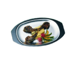 """Bon Chef 82036UB 14.75"""" Unbreakable Polyester Underliner for Sizzle Plate"""