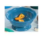 Bon Chef 90621038S DKBL 2-qt Pedestal Bowl, Aluminum/Dark Blue