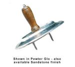 "Bon Chef 9067S SMGR 6.75"" Bread Holder, Aluminum/Smoke Gray"