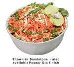 Bon Chef 9068S PLUM 5-qt Tulip Bowl, Aluminum/Plum