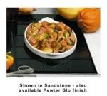 Bon Chef 9600H2083S WH Custom Cut Tile Tray for 2083, Aluminum/White