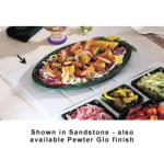 Bon Chef 9600H5099S BLK Custom Cut Tile Tray for 5099, Aluminum/Black