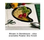 Bon Chef 9600H5104S BLK Custom Cut Tile Tray for 5104, Aluminum/Black