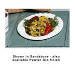 Bon Chef 9600H5500S WH Custom Cut Tile Tray for 5500, Aluminum/White