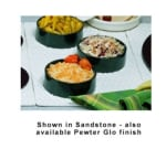 Bon Chef 9630H39013P Single Size Tile Tray For (3) 9013, Aluminum/Pewter-Glo